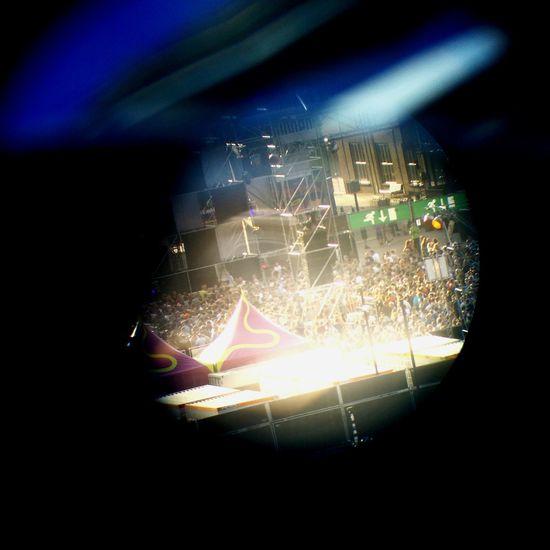 Faithless concert close-up