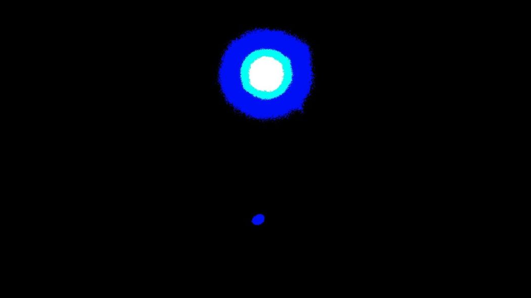 Pivotal Ideas Star and Planet Sonne Planet Weltraum Space Space Exploration Space And Astronomy Space Photography Sun Merkur Merkury Lange Belichtet Pivotal Ideas EyeEm Ready   Lighting Equipment Blue Ceiling Illuminated Multi Colored Green Color Electric Light Sky Circle No People Lit