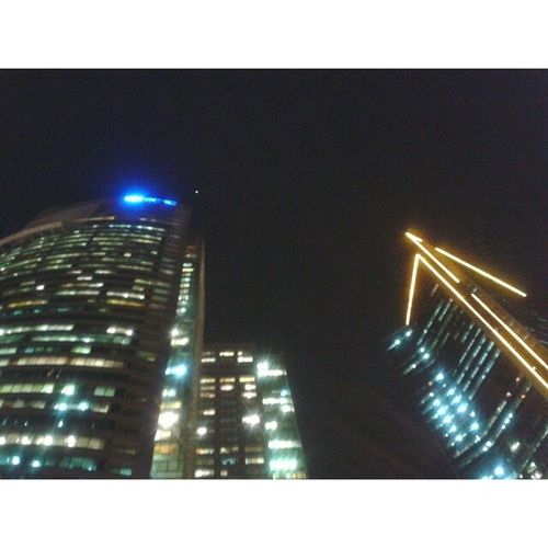RCBC Tower and LKG Tower. Ayalaavenue Skyscrapers MakatiNights UrbanEvenings MakeItMakati