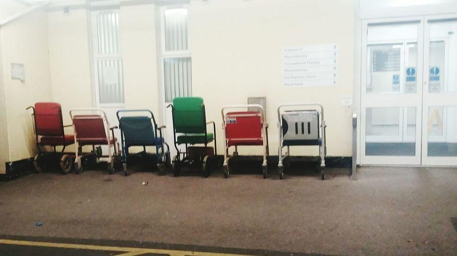 Hospital, Wheelchair First Eyeem Photo