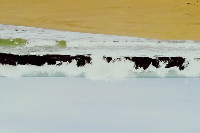 My soul Upside Down Sea Sand Nature Storm Beauty In Nature Confused? Me Too. Confusion Waves Crashing Abstract