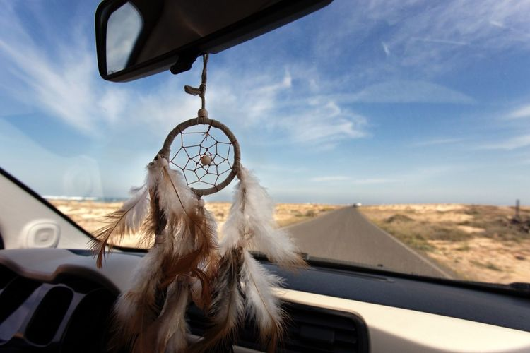 Dreamcatcher In Car