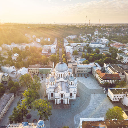 Morning panorama Church DJI Mavic Pro DJI X Eyeem Drone  Morning Panorama Aerial Architecture Belief Building Building Exterior Built Structure City Cityscape Day Europe High Angle View Mavic Pro Nature No People Outdoors Place Of Worship Plant Religion Sky Soboras TOWNSCAPE Travel Travel Destinations Tree