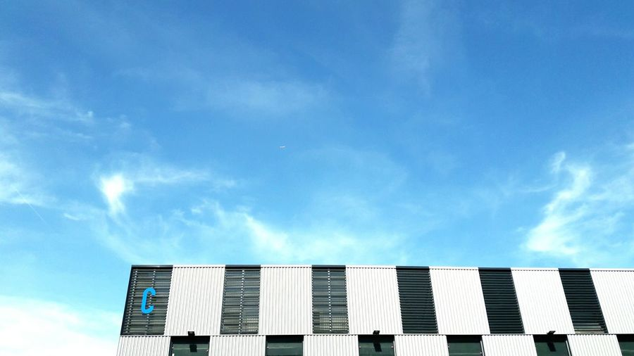 Sky Day Outdoors Cloud - Sky Low Angle View Built Structure Architecture No People Building Exterior EyeEmNewHere The Week On EyeEm Blue Nature Visual Creativity