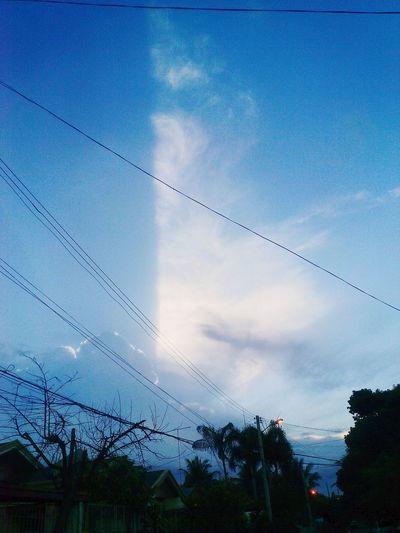 Half Leaf Cloud First Eyeem Photo