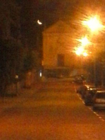 Quando a Lua aborda a cidade,a Igreja e a Rua... Hanging Out Check This Out Enjoying Life A Minha Cidade numa Noite escaldante...!
