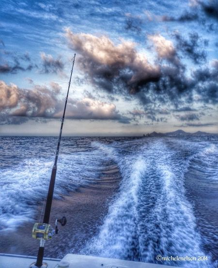 In an HDR mood.... Sony NEX Ocean Cabo San Lucas Fishing