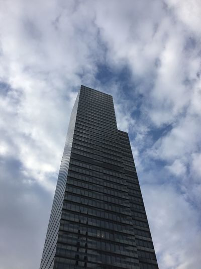Architecture Building Exterior Built Structure City Cloud - Sky Day Low Angle View Modern No People Outdoors Pyramid Sky Skyscraper Tall - High The Architect - 2017 EyeEm Awards Tower