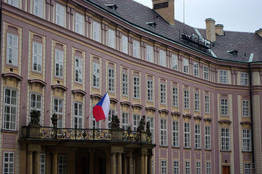 Architecture Balcony Building Building Exterior Built Structure City Façade Landscape Low Angle View Prague Tourism Travel Destinations