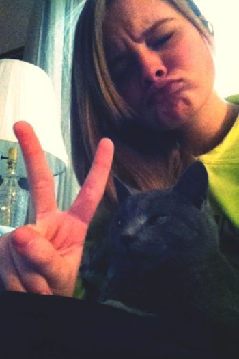 Me and my cat are the coolest people everrrrr