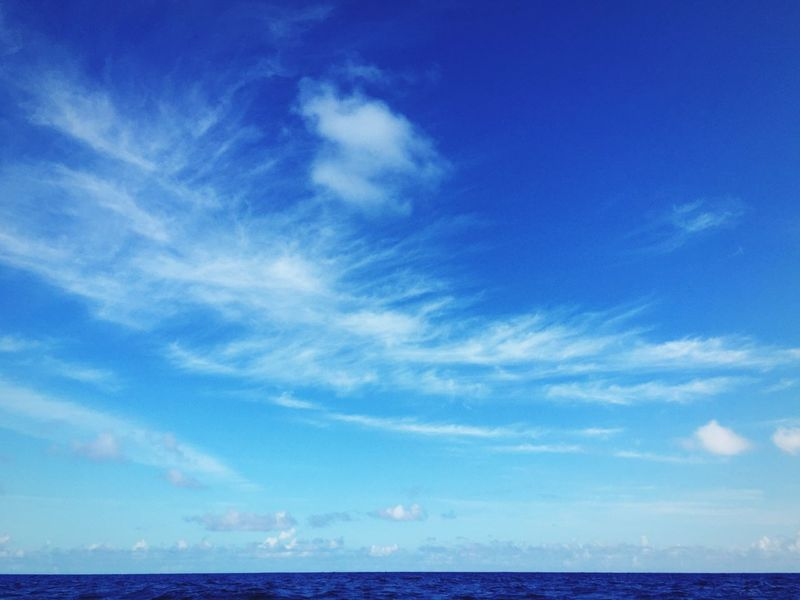 Sea Seascape Outdoors Nature Nature_collection Nature Photography Waves Horizon Over Water Blue Blue Sky Cloud Clouds And Sky Traveling USA Relaxing Saipan