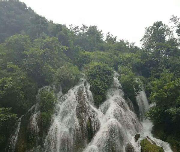 黄果树瀑布 贵阳小车河湿地公园 凯里 苗寨 银头饰 溪流 Tree Plant Water Scenics - Nature Beauty In Nature Motion Forest