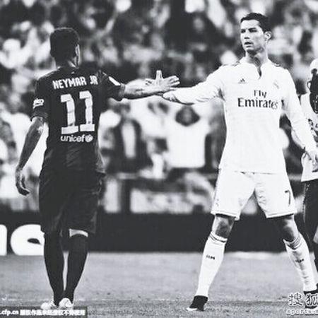 Soccer Neymar Jr Ronaldo Teamwork