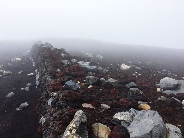 Rock Rocks Ordinary Rocks Volcanic  Volcanic Rock Magma Magma Rocks Magma Rock Volcanic Rocks Nature Outdoors Fuji Fujisan Fuji Trekking Fuji Trail Fujisan Rocks Fujisan Rock First Eyeem Photo Mist Fog Silent Hill Patto