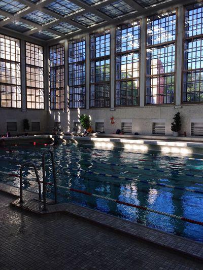 "Stadtbad Mitte ""James Simon"", Gartenstaße 5, 10115 Berlin - Mitte | Stadtbad Stadtbad Mitte James Simon Architecture Swimming Pool Swimming Bluewater Structure"