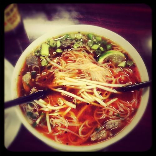 Pho again? lol (: Asian Food