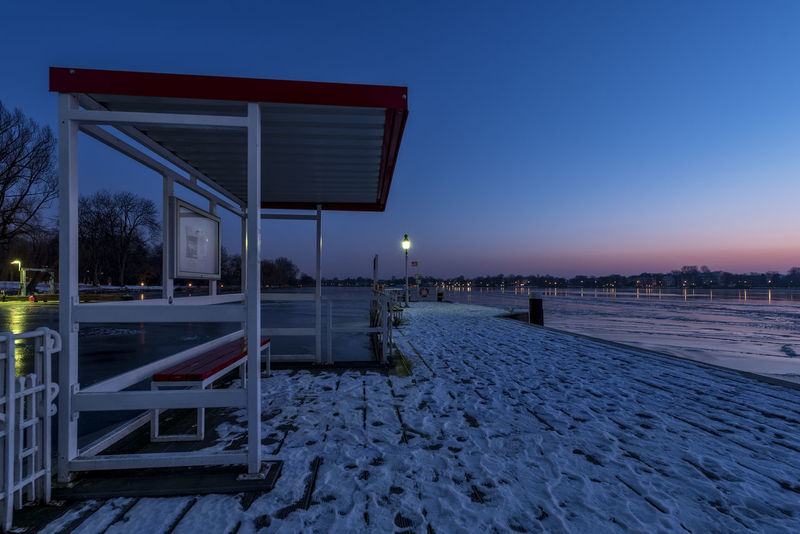 Ferry Terminal Rabenstrasse Aurora Blue Hour Hamburg City Lantern Nikon Railing Station Wintertime Architecture Außenalster Bare Trees Blue Sky Building Exterior Built Structure Clear Sky Dawn Of A New Day Illuminated Lake March Nature Night Nikonphotography No People Outdoors Pillar Ponton Red Sky Sand Sea Shelter Sky Sunset