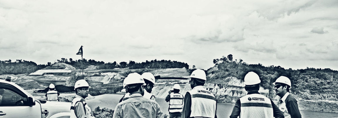Day Large Group Of People Men Outdoors Person Standing Taking Photos Togetherness Here Belongs To Me Engineer Coalmining