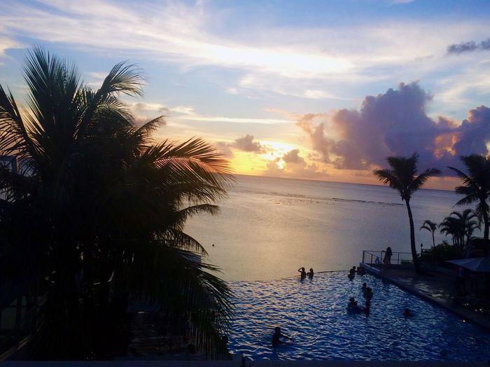 Sanset Guam