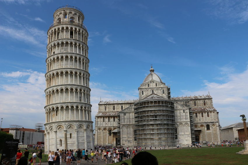 Architecture Built Structure City Dome Façade Leaning Tower Of Pisa Pise Tourism