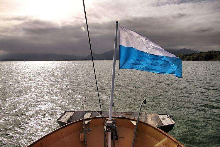 Architecture Bavaria Castle GERMANY🇩🇪DEUTSCHERLAND@ Nature Pier Boat Gardens Herrenchiemsee Lake Nun Palace Waves Wind