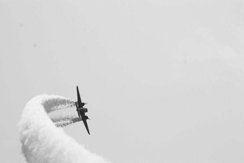 The Beech 18 takes to the sky! B&W Collection Flying AMPt_community