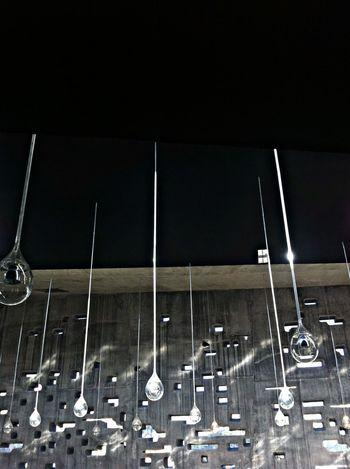 """rain inside sun outside"". Illumination Inside Museum Gotas"