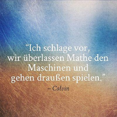 Calvin Hobbes Quote