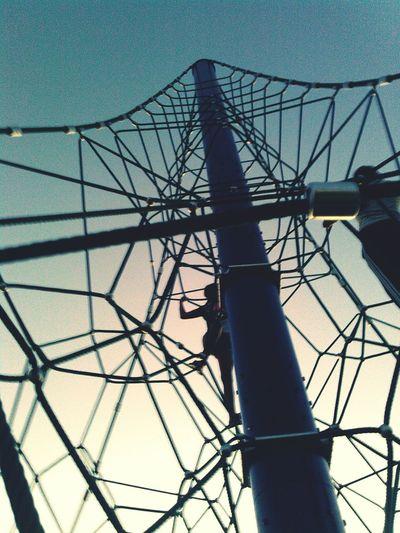 Playground I'm The Sky Rope Tower