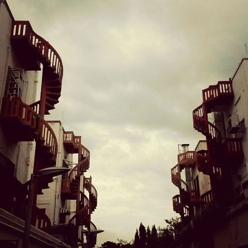 Spiral stairs First Eyeem Photo Stairs Tiong Bahru Hidden Gems  No People Modern The Secret Spaces
