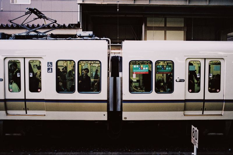 Commuting Analogue Ishootfilm Leicacamera Leicam6 Believeinfilm Film Photography Japan Kyoto,japan Kyoto Ishootfilm Rail Transportation No People Transportation Public Transportation Technology Train Train - Vehicle Railroad Track Mode Of Transportation