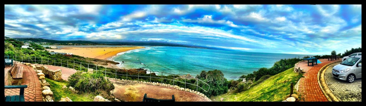 Holiday Taking Photos South Africa Sea View Panoramic