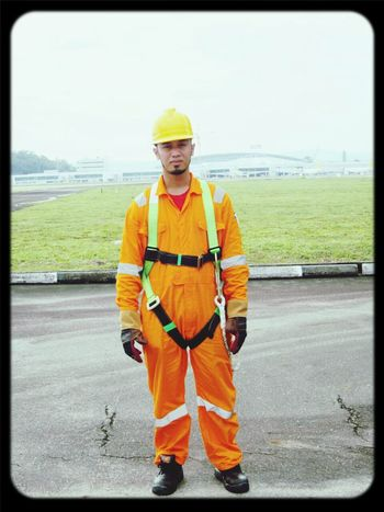 Hi Everyone That's Me Wearing Safety Harness