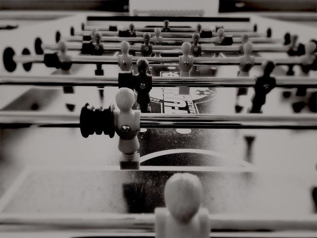Let's play Play Tischkicker Tablesoccer Tablefootball Soccer Football Bw Blackandwhite Photography IPhoneography