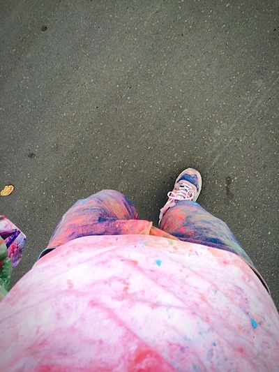 Colors ColorRun Running Hello World Check This Out Taking Photos Enjoying Life On The Road Relaxing Weekend Activities Hanging Out Young Color Portrait