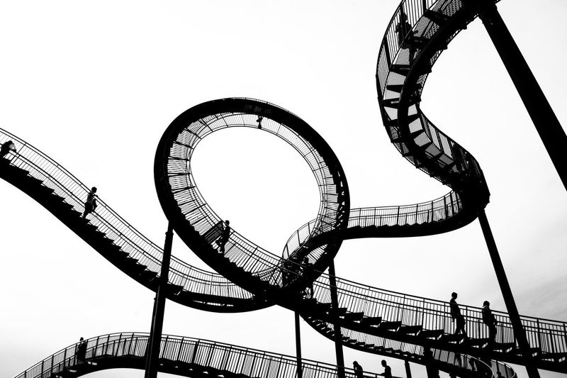 tiger & turtle EyeEm Best Shots Tiger And Turtle – Magic Mountain Amusement Park Amusement Park Ride Architecture Arts Culture And Entertainment Built Structure Circle City Clear Sky Day Fairground Leisure Activity Low Angle View Metal Nature No People Outdoors Railing Rollercoaster Sky Tiger And Turtle Tourism Travel Destinations