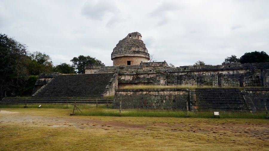 planetario maya Mayan Ruins Chichenitza Mayas History Travel Destinations Architecture Built Structure Sky Building Exterior Day Outdoors No People