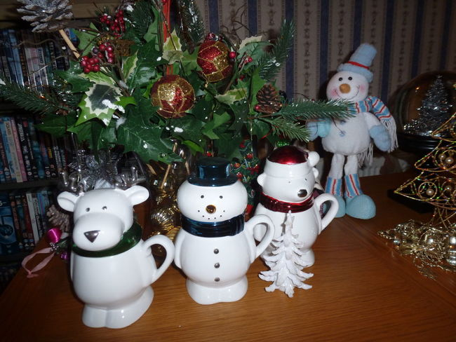 """""""Well guys I guess that's another one over so back in the box"""" - Happy new year everyone Arrangement Christmas Decorations Close-up Indoors  Large Group Of Objects Still Life"""