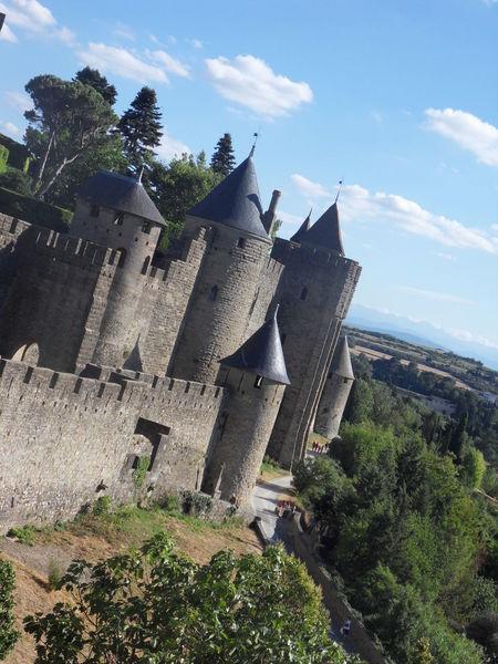 Architecture Built Structure Carcassonne Château Day France Historique History Medieval Nature No People Outdoors Remparts Sky Tree Ville Vue
