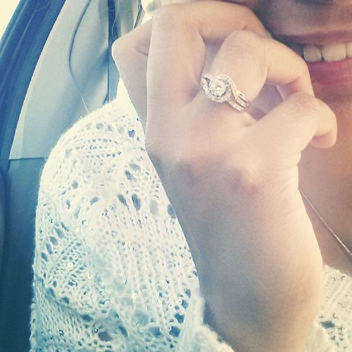 Because it looked extra shiny with my sweater and golden nails! Desperateforittobefallintexas Ring