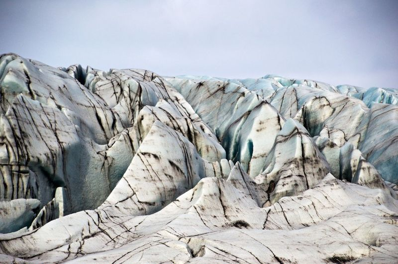 Ash Layers Beauty In Nature Blue Ice Cold Geology Glacier Glacier Is Coming Hiking Ice Ice Blue Ice Galore Iceland Layers Natural Pattern Nature Photography Outdoors Physical Geography Roadtrip With The Cousins Rough Skaftafell Skaftafellsjökull