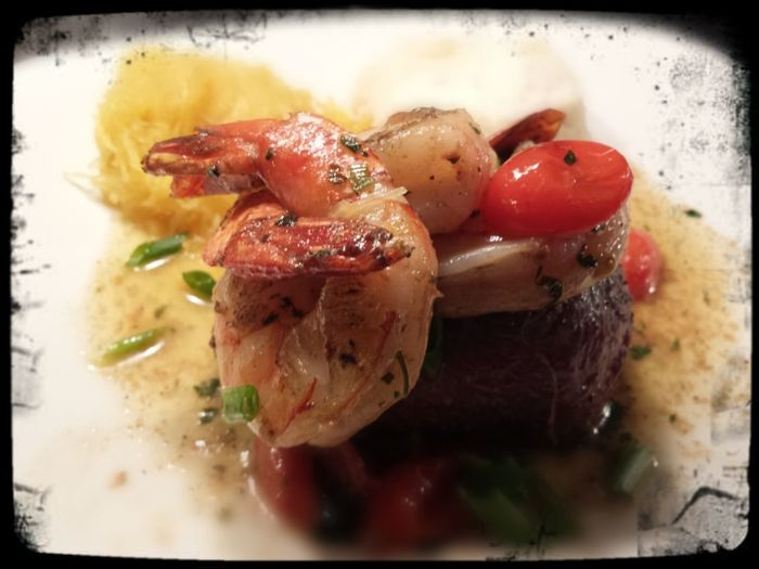 Great Atmosphere Tasty Dishes Hungry colossal shrimp and filet