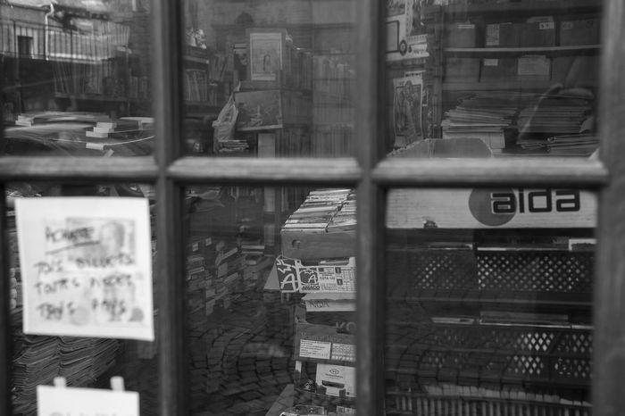 Vintage Books Bookshops Close-up Communication No People Old Book Shop Old Books Supermarket