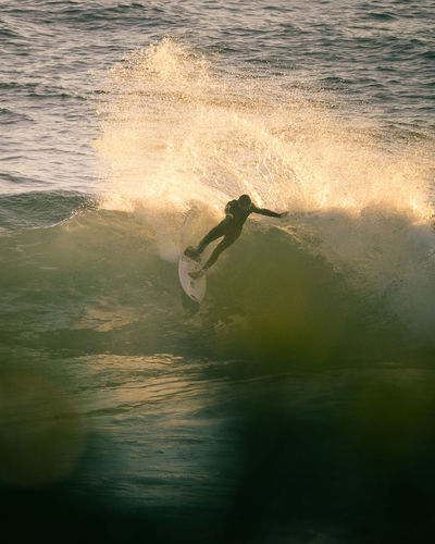 Ripping through the waves of South Africa's Golden Hour! A New Beginning Surfing Waves Cutbacks LumixG80 EyeEmNewHere