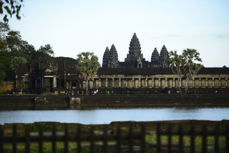Angkor Wat, Siem Reap, Cambodia. Angkor Angkor Wat Architecture Building Exterior Built Structure History No People Outdoors Religion Siemreap Travel Destinations Tree Water