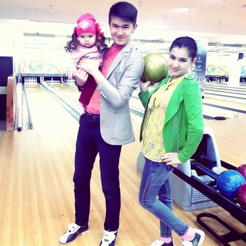 Bowling With Sister Perfect Game Like A Boss Strike! Legend Santalucia Motivated Enjoying Life Relaxing