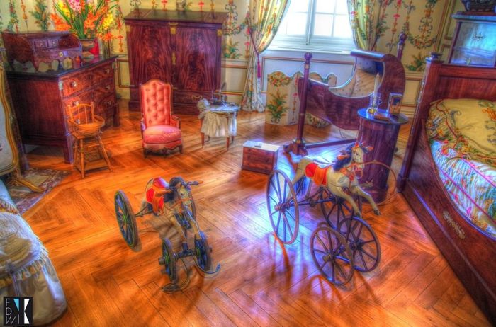 Hdr_Collection Castle Cheverny Château France Fidiwik HDR Collection Bedroom Chambre Children