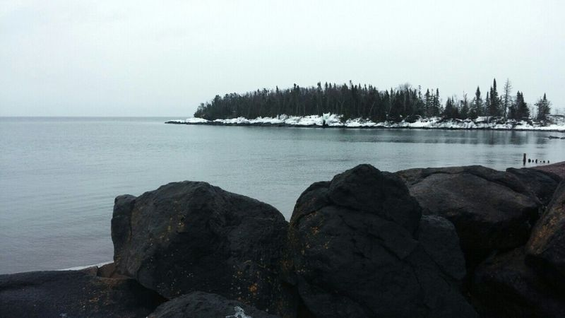 Lake Superior Upper Michigan Shore Roadtrippin' Enjoying Life Snowmobiling Capture The Moment Hello World Taking Photos
