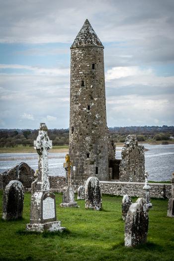 Celtic Cross Cemetery Day Gravestone Graveyard Ireland Ireland🍀 Memorial No People Outdoors Spirituality Tombstone Travelireland Travelphotography