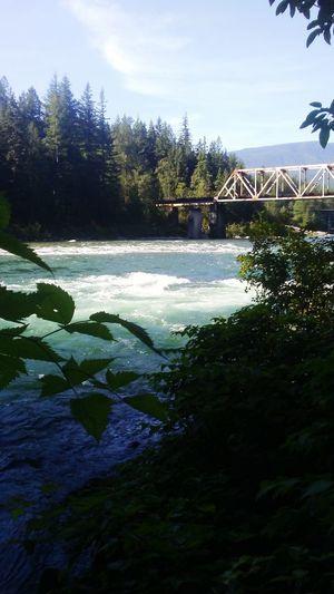 Summer Views Essence Of Summer Red Bridge River Big Ed's